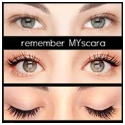 Mascara semi-permanent